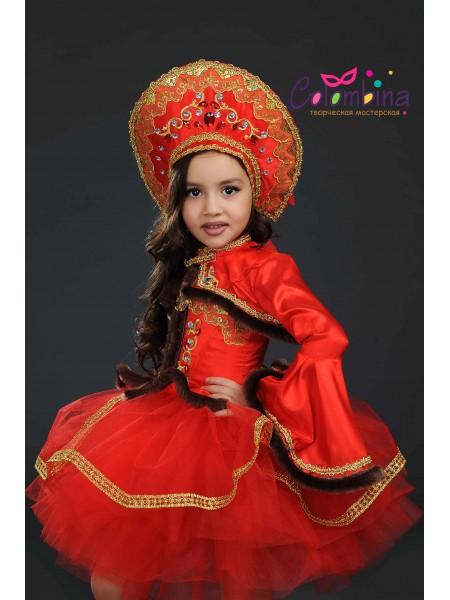 костюм русской красавицы 339