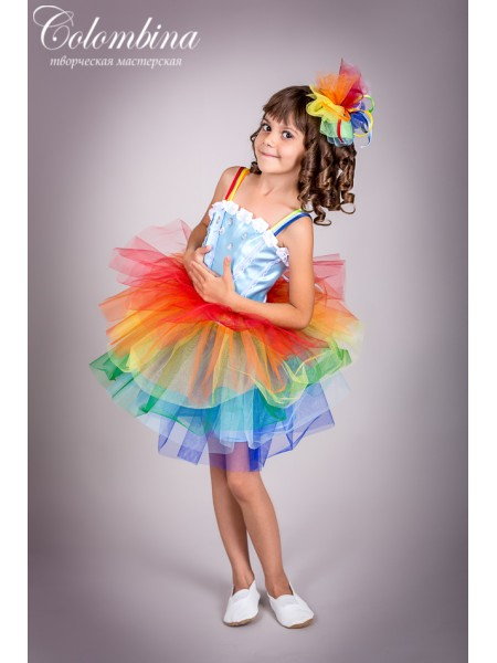 костюм радуги 129